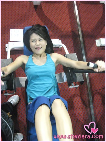 Sheylara at the gym