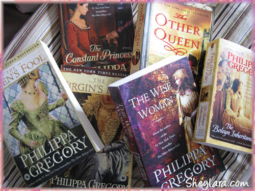 Philippa Gregory novels