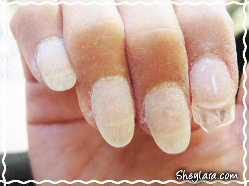 Gel nail extension