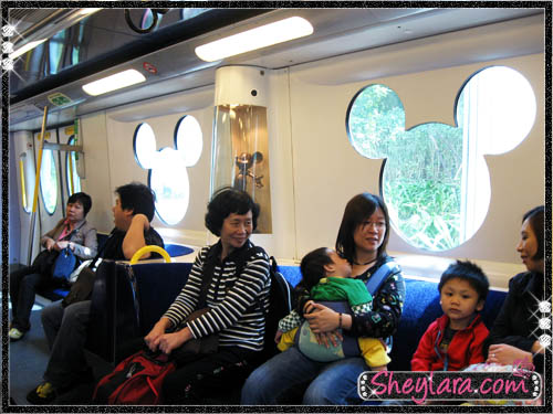 Mickey Mouse train