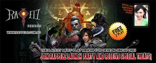 Rappelz Singapore launch