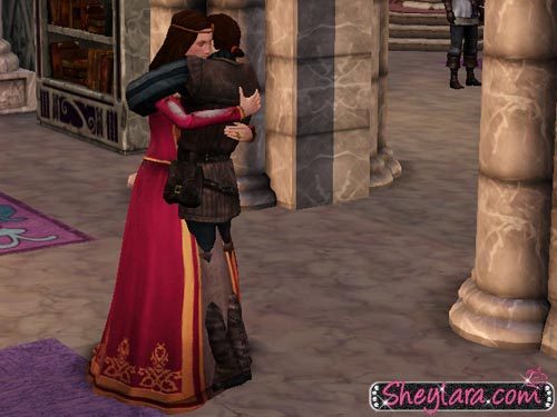 The Sims Medieval - Piers and Sheylara