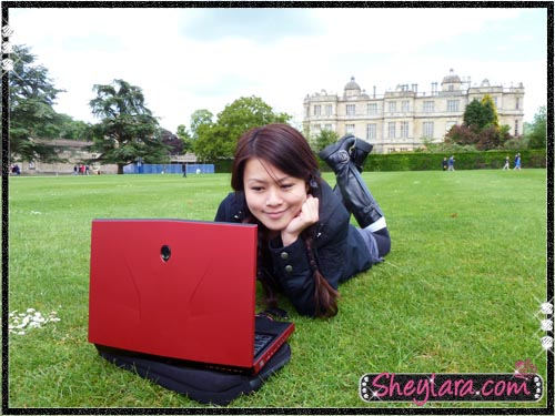 Sheylara and Alienware M14x