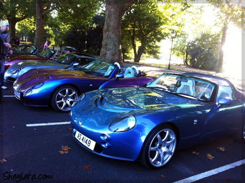 TVRs in row