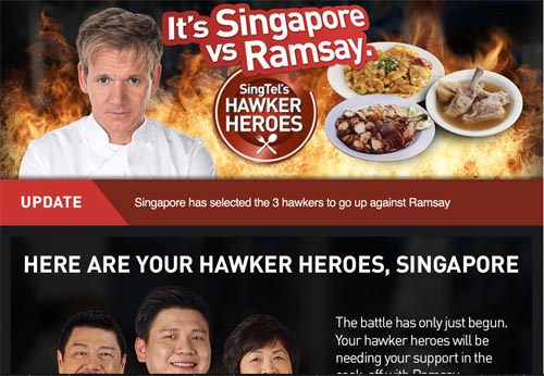 Gordon Ramsay vs Singapore