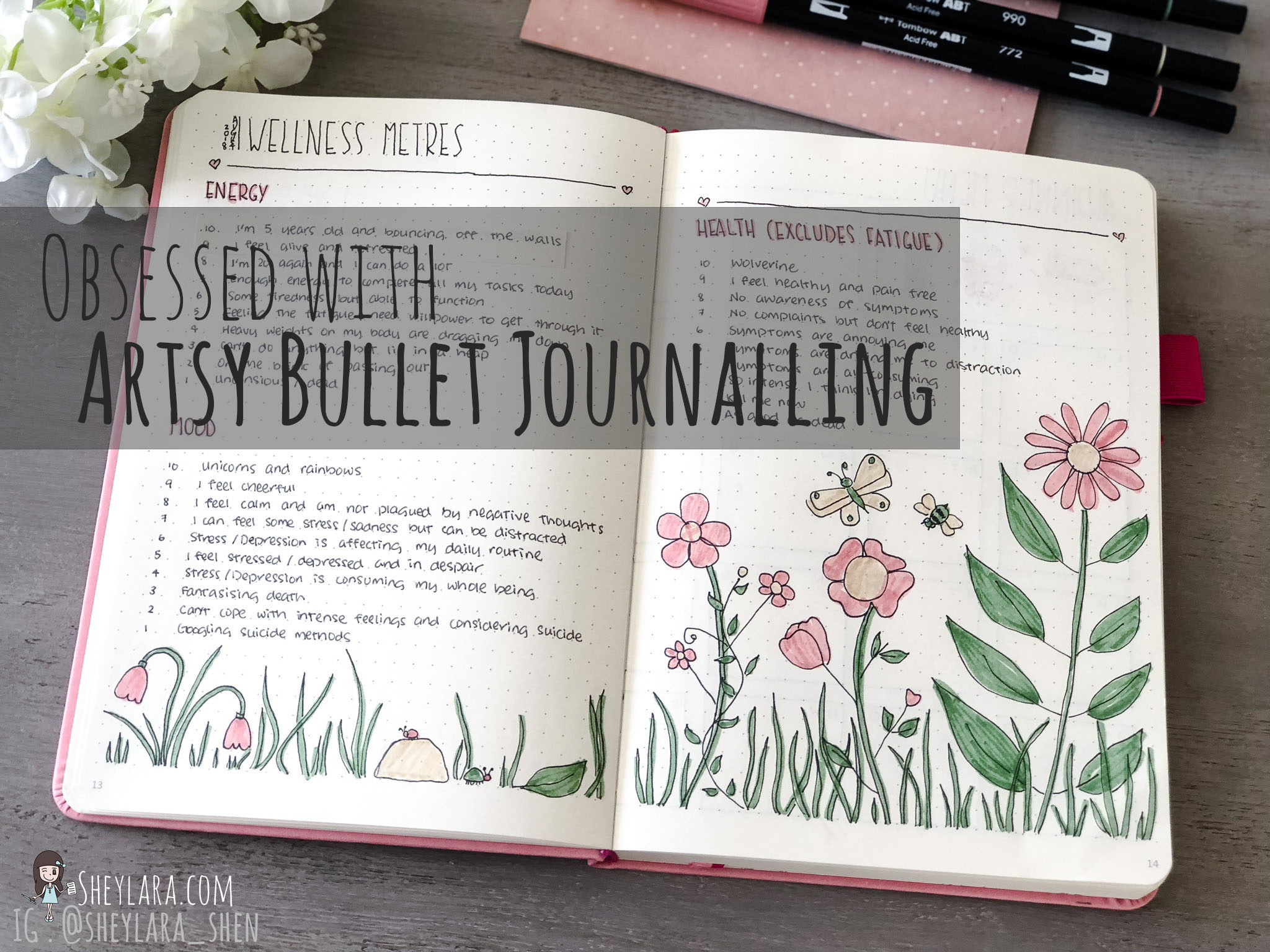 Obsessed with Artsy Bullet Journalling